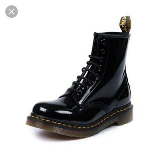 Shinny Black Doc Martens