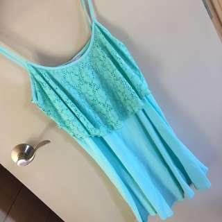 Mint/ Aqua Summer Dress