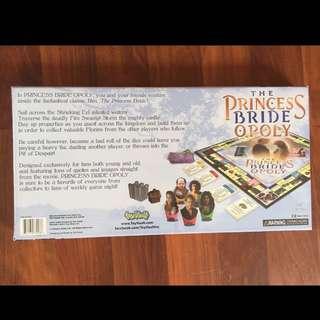Princess Brideopoly Monopoly