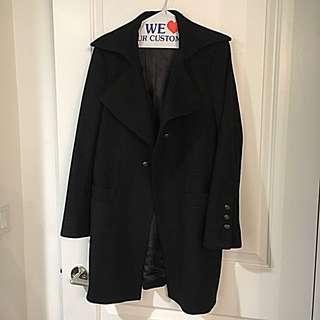 Black Winter Coat / Large