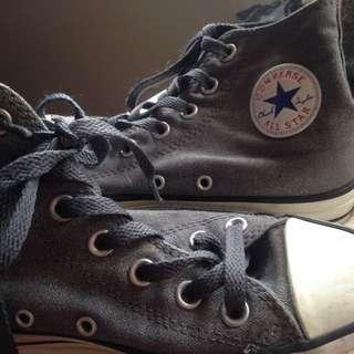 Grey All Star Converse