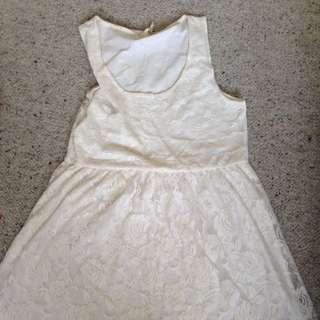 Beautiful Lace White Dress