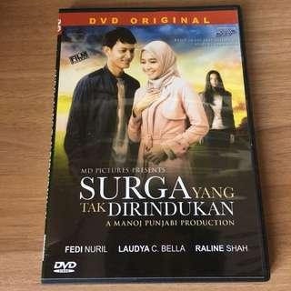 """DVD Indonesia Original """"Surga Yang Tak Dirindukan"""""""