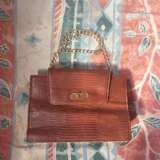Hand Bag Chain / Tas Kulit
