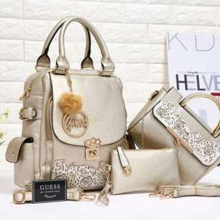 GUESS nui leaf 3in1 Taiga leather 86006-1