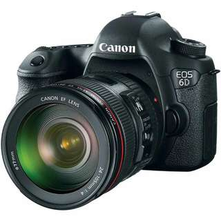 Canon 6d With 24-105L F4 Lens