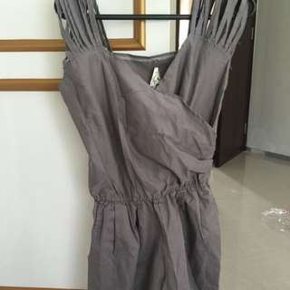 BKK gray jumpsuit