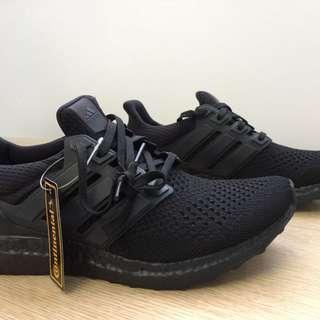 Adidas 100% Authentic Ultraboost LTD Triple Black Caged US 10.5 Mens