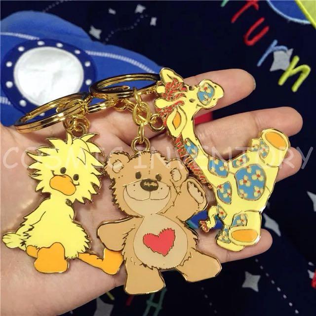 1203suzy Zoo 愛心熊造型鑰匙圈