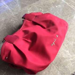Agnes B Bag In Very Nice Red