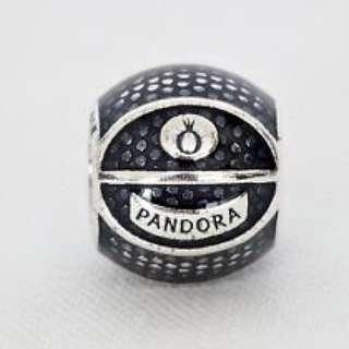 Pandora Basketball Charm