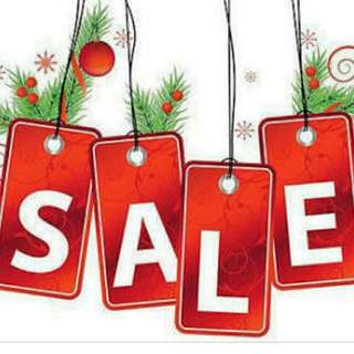 CHRISTMAS SALE ONGOING