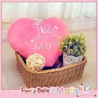 義大利Fancy Belle X Malis《飛馬心型抱枕》