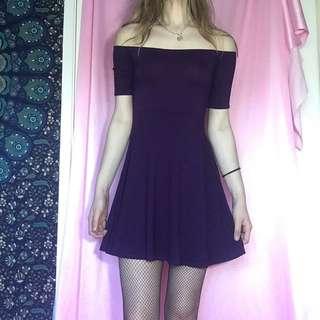 Missguided Off Shoulder Dress