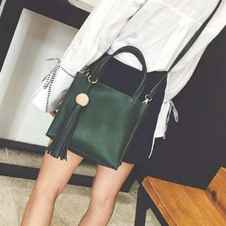 Dark Green Handbag