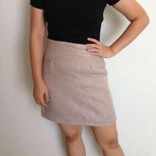 Zara Velvet Skirt