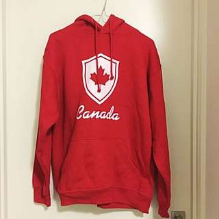 Red Canada Hoodie