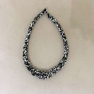 Black And White Ethnic Necklaces