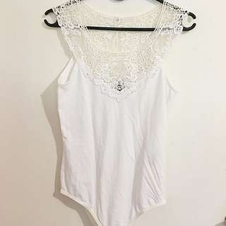 Forever New lacey bodysuit