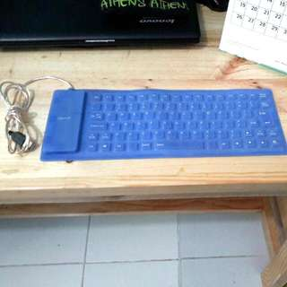 Silicon PC Keyboard