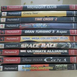 Used PS2 Games (2)