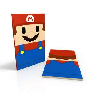 Mario - Super Mario Note Book