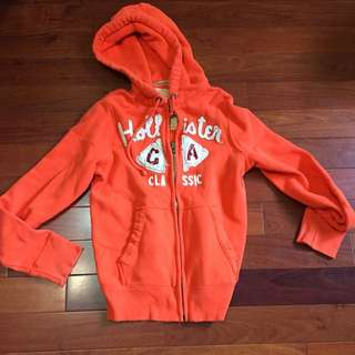Hollister橘外套