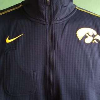 Jaket Big Size - Nike College Half Zip Jacket with inner small pocket