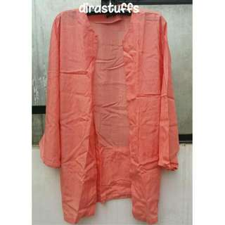 Another Me Long Outer Peach