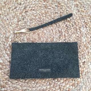 *Authentic Amanda Wakeley Sparkling Leather Purse