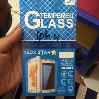 Tampered Glass Iphone 4