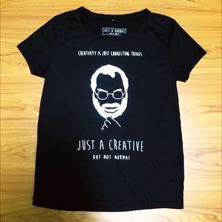泰國設計師品牌黑色短袖上衣