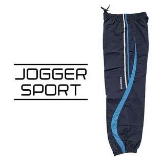 Celana Jogger - Celana Training Panjang Pria (Joger) - Blue
