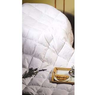 100% White Duck Feather Duvet / Doona / Quilt-KING