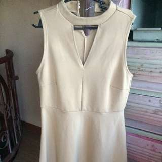 nude/brown brandnew dress
