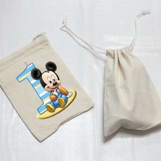 Mini Drawstring giveaway bag