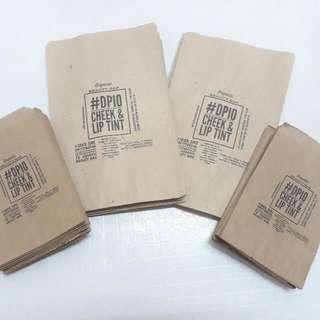 4x6 inch paper bag w/ custom print