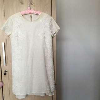 Et cetera White Linen Dress