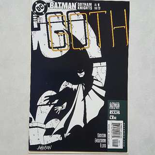 DC Comics Batman Gotham Knights 1 Near Mint Condition Warren Ellis & Jim Lee