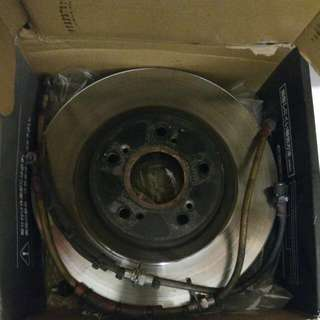 Accord CL7 Euro R 300mm Front Disc Rotors