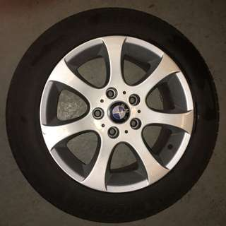 205/55/R16 Bmw Rims And Michelin Tires -$410 OBO
