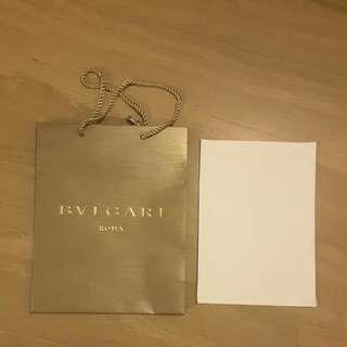 Bvlgari Paper bag