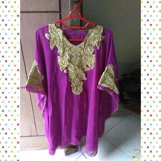 Purple Kaftan
