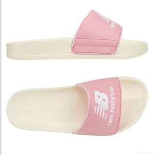 韓國代購 NEW BALANCE 粉色 奶油底 厚底拖鞋(SD1101DWP)1180含運 NBPJ7S506P
