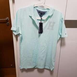 Tommy Hilfiger Polo Shirt - Light Blue