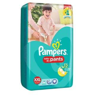 Pampers Pants XXL