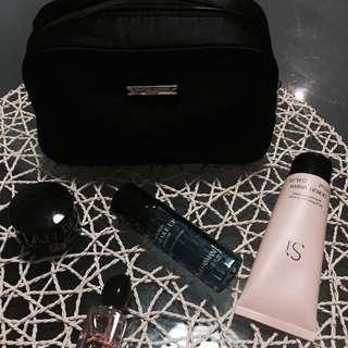 Giorgio Armani Makeup Bag With Goodies
