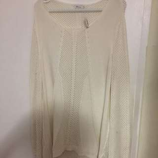 Brand New Reitmans Knitted Patterned Sweater