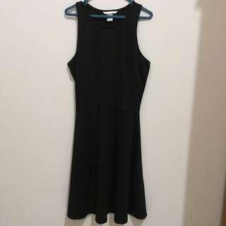 Hnm Black Dress Size S Divided