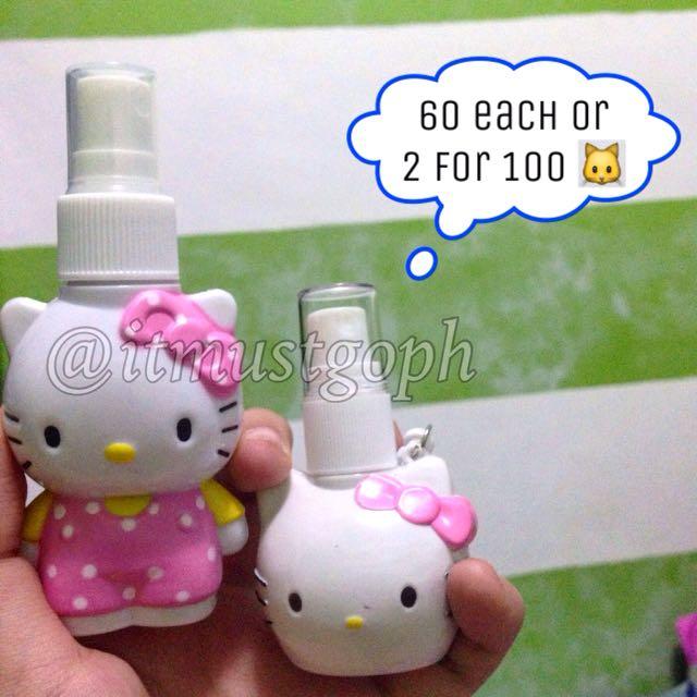 2 For 100 Hello Kitty Spray Bottle